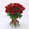 35 красных кенийских роз фото