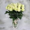 25 белых роз - Мондиаль фото