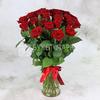 Букет из 25 красных роз - Ред Наоми фото