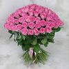 Букет из 101 розы - Аква фото