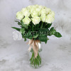 Букет из 25 белых роз - Аваланж фото