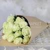 Букет из 15 белых роз - Аваланж фото