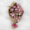 Букет из орхидеи, капса и эвкалипта фото