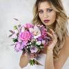 Букет невесты из роз, хризантем и орхидеи фото