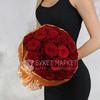 Букет из 25 красных роз фото