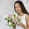 Букет невесты из калл, роз, орхидей и вибурнума фото