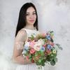 Букет невесты из роз, нигеллы и озатамнуса фото