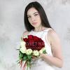 Букет невесты из красных и белых роз фото