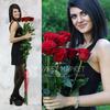 Букет из 7 красных длинных роз фото