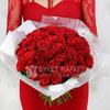 Букет из 51 красной розы фото