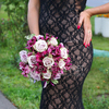 Букет из роз и альстромерии фото