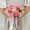 Букет из роз, гиперикума и салала фото