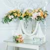 Композиция из роз, орхидей, гвоздик и гортензии (без вазы) фото